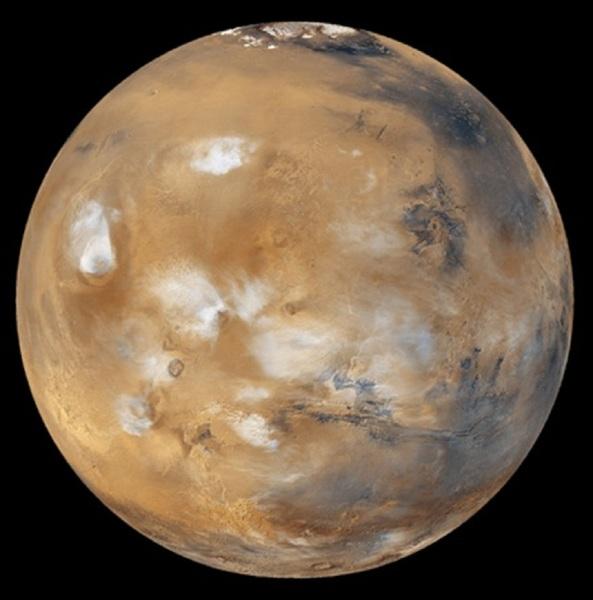 Image of Mars from NASA.