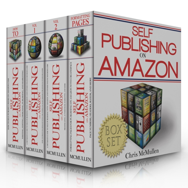 Boxed Set of SP Books 3d with reflection
