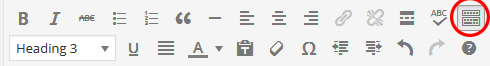 WP Toolbar