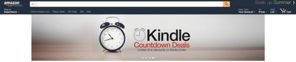 Countdown Amazon